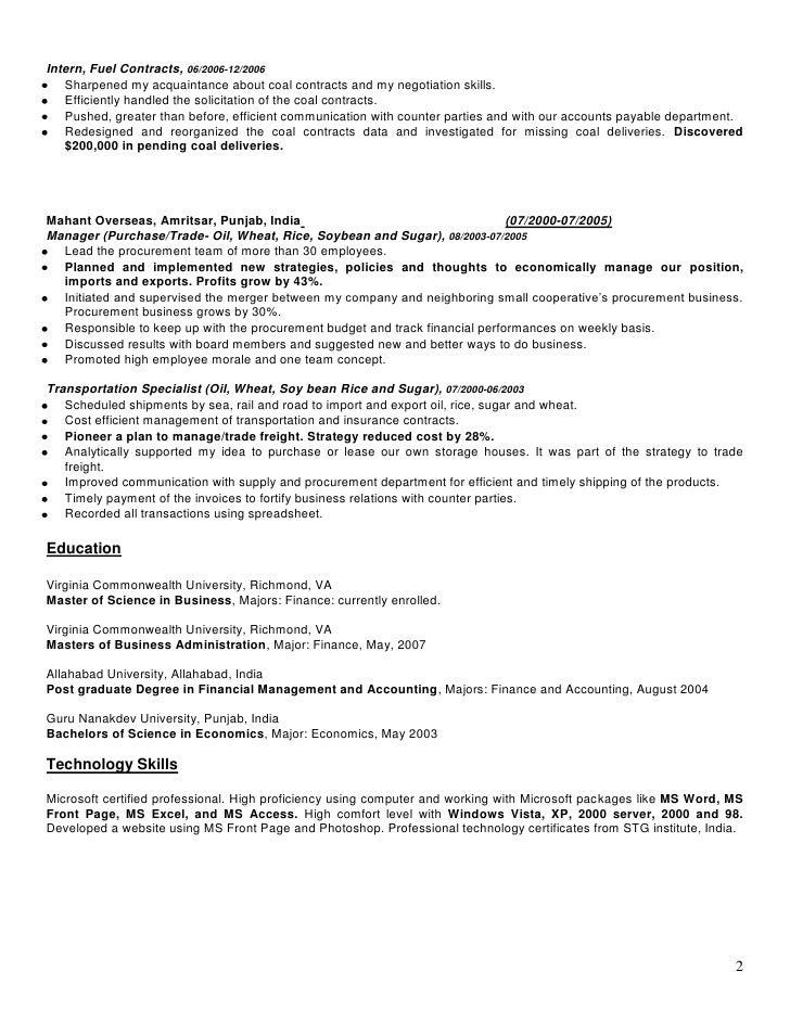 Marwaha Resume