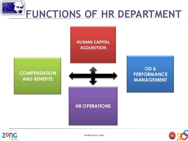 hr practices at parle