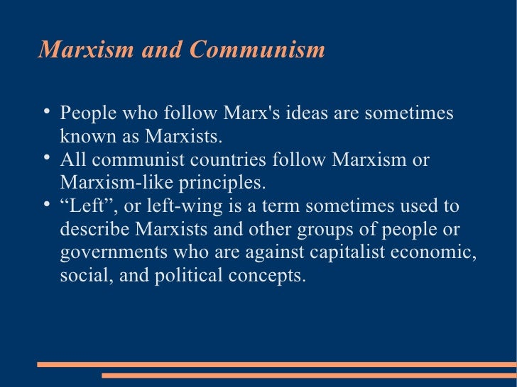 what entails a communist government as described in the communist manifesto What is socialism and communism in very simple terms socialism, at least marxist socialism, is the organisation of a society aimed at the equitable distribution of power and need satisfaction, usually involving a state apparatus to that end.