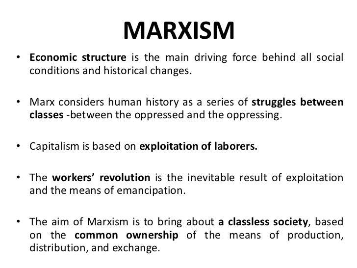 elements of marxist criticism
