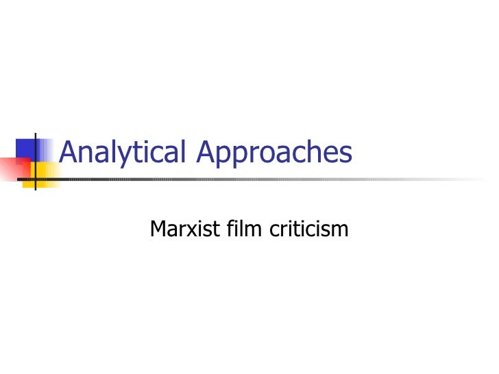 Marxist Film Theory