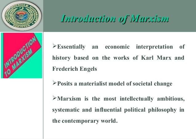 an interpretation of the philosophy of karl marx Quick answer karl marx's theory of social change relates to the class struggle that defined the 19th century, namely that of the ruling classes (the bourgeoisie) suppressing the working classes (the proletariat), and as a result marx's theory of social change stated that economic needs should be pursued purely on the basis of need while .
