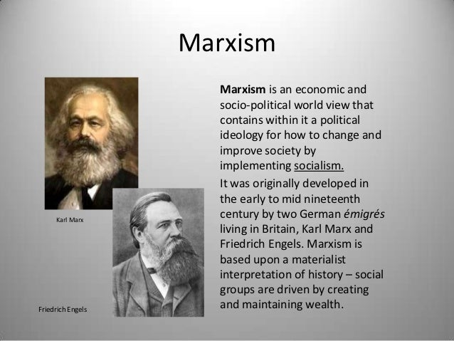 comparing the ideologies of karl marx Free essay: comparing alexis tocqueville and karl marx writing in the 1830s tocqueville saw democracy as the way of the future, and envisioned a world where.