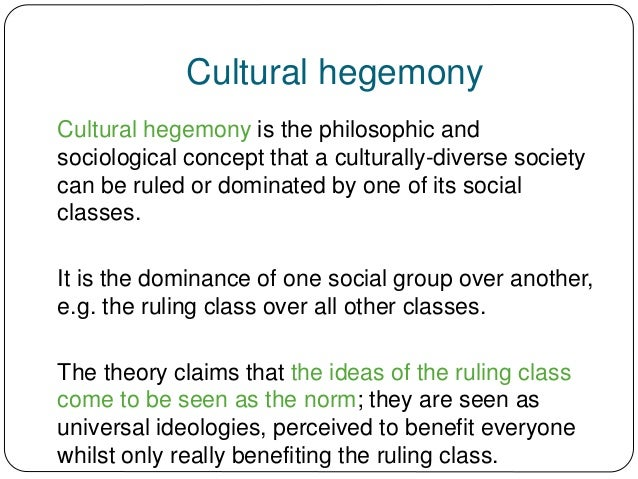 marxism  gramsci and hegemony