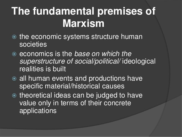 Notes on marxist criticism