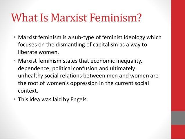 Marxist feminist theory