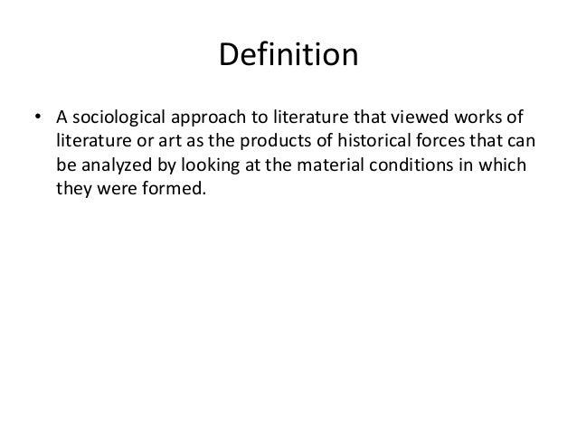 historical literary criticism