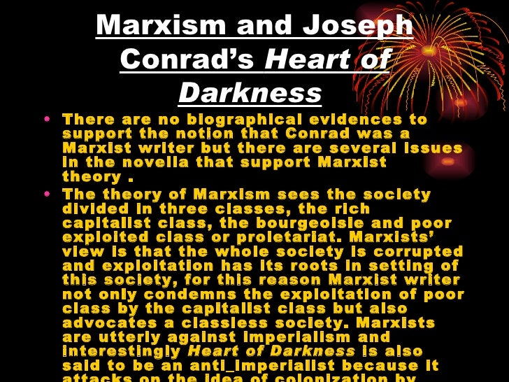 heart of darkness society Heart of darkness: home joesph conrad novel review culture of conflict culture of conflict marlow realizes that he can't completely sacrifice himself to society and make a big influence on it because of what has happened when he was away to africa and actually was around everything.