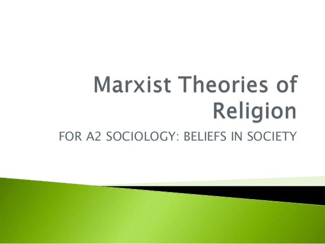 karl marx believed that religion