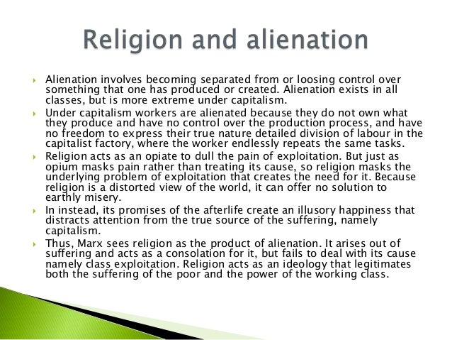 alienation capitalism and workers Karl marx alienation and the nigerian workers it investigates the nigerian workers and the nigerian economy in the light of marx alienation under capitalism.
