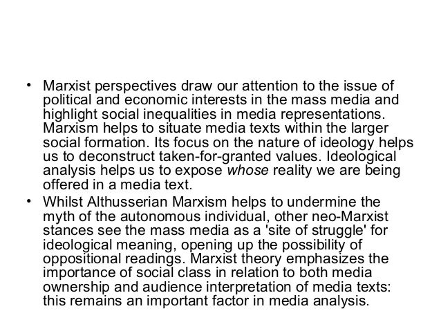an analysis of the concept of marxism and the importance of the political corectness In the cultural marxism of political correctness certain groups are good  and  finally, both have a method of analysis that automatically gives the answers they  want  marxists knew by definition it couldn't be the theory.