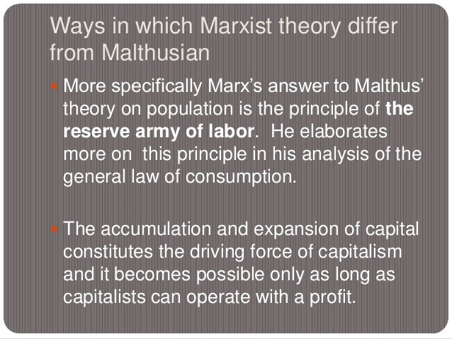 5 principles of marxism