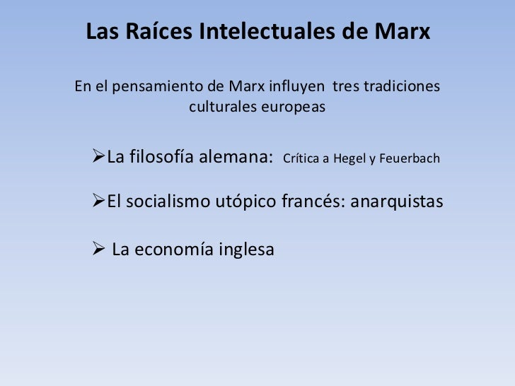 Marx  Slide 3