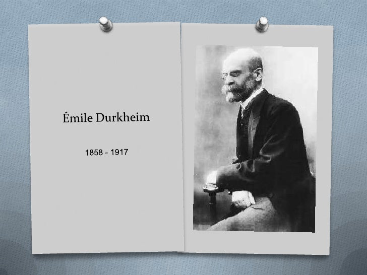 emile durkheim individualism and the intellectuals Sociological theory/emile durkheim individualism and application of scientific methods to study social phenomenon intellectual influence durkheim.