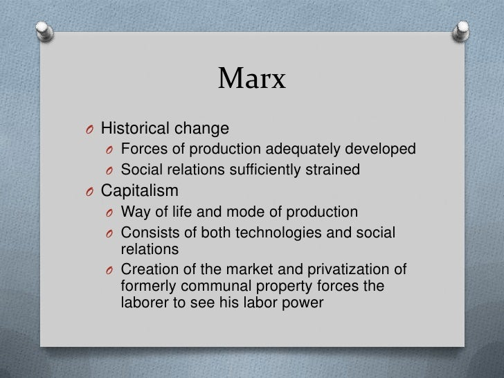 marx and weber Karl marx's contribution to sociology a:  marx, max weber and emile durkheim are considered the founding thinkers of sociology marx was not only a thinker,.