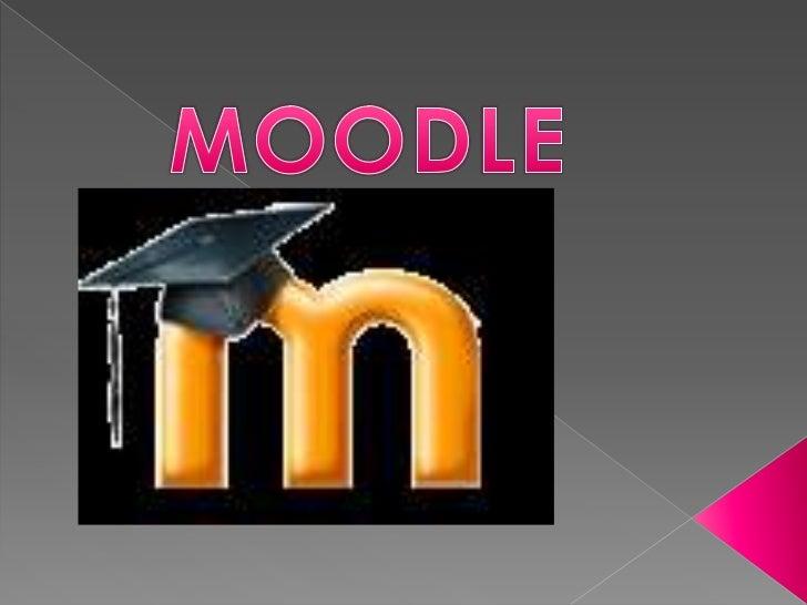    Moodle es una aplicación web de    tipo Ambiente Educativo Virtual, un sistema    de gestión de cursos, de distribució...