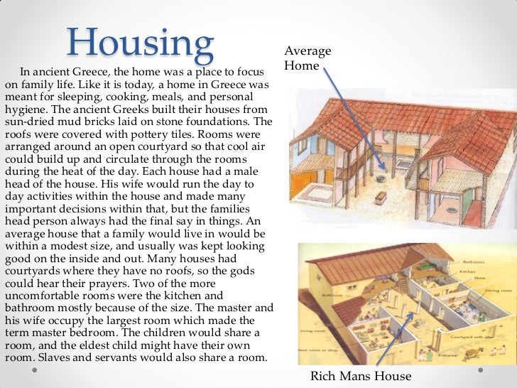 Modern greek houses facts