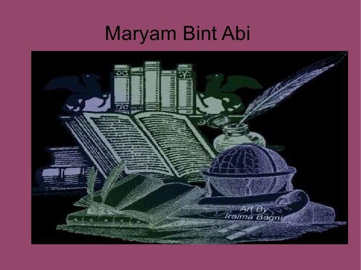 Maryam Bint Abi