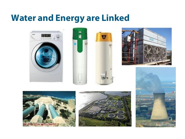 Water and Energy are Linked