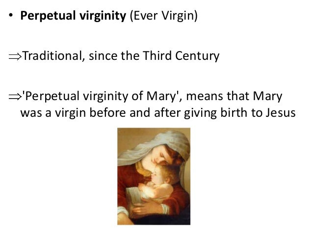 Perpetual virginity of mary lateran council