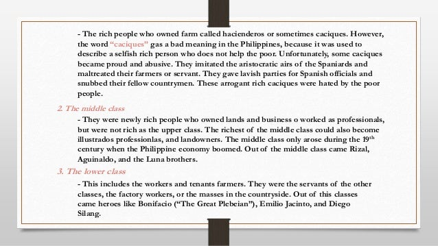 filipinos economic life under spain The restoration of spanish rule brought reforms aimed at promoting the economic  and spain, ceded the philippines  filipinos first.