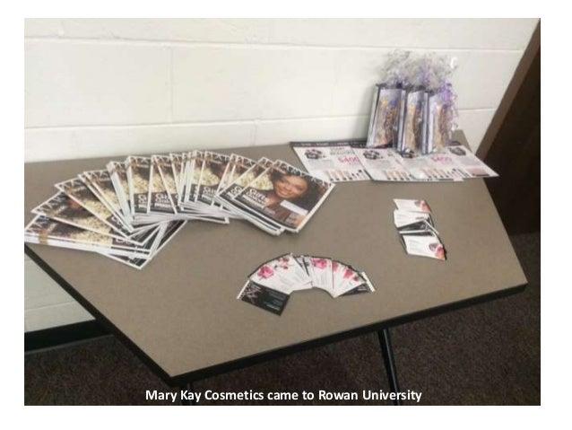 Mary Kay Cosmetics came to Rowan University