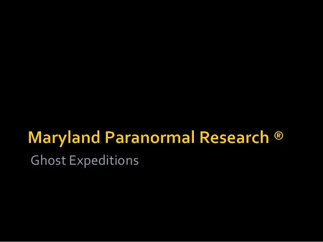 Ghost Expeditions