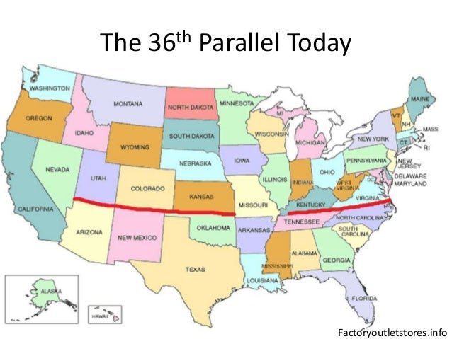 Politics Of Maryland - 40th parallel us map