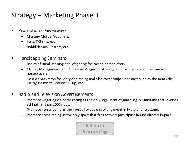 Strategy – Marketing Phase II •  Promotional Giveaways – Mystery Mutual Vouchers. – Hats, T-Shirts, etc. – Bobbleheads, Po...