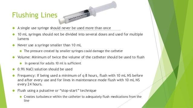 13 flushing lines