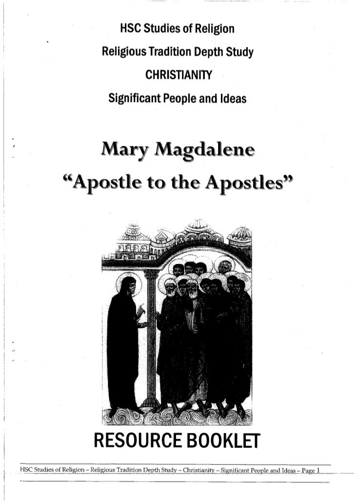 Mary Magdalene Booklet