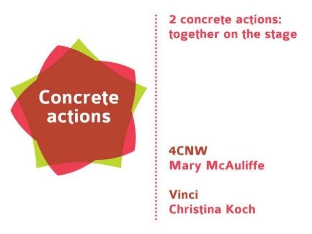 4CNW TALENT VOUCHER SCHEME  An ECIA concrete action on Innovation Vouchers/Type B  Mary McAuliffe 4CNW Coordinator