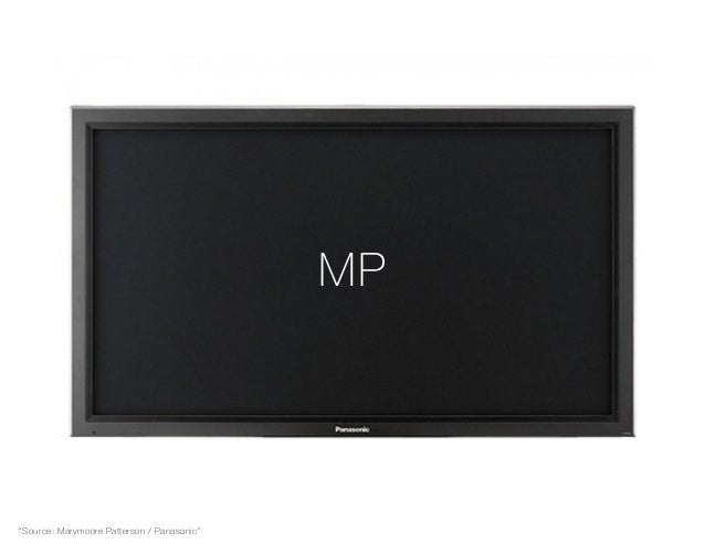 "MP ""Source: Marymoore Patterson / Panasonic"""
