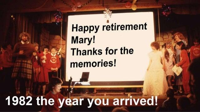 Mary retires