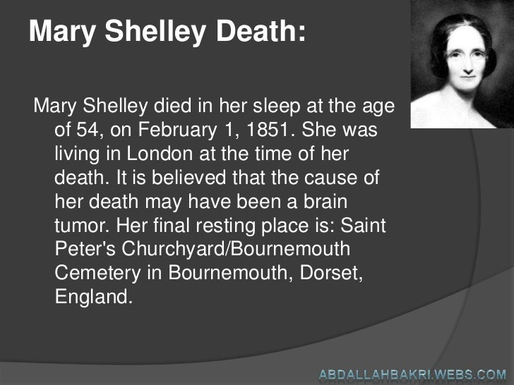 mary shelleys life reflected through her work A list of important facts about mary shelley's frankenstein, including setting, climax, protagonists, and antagonists.