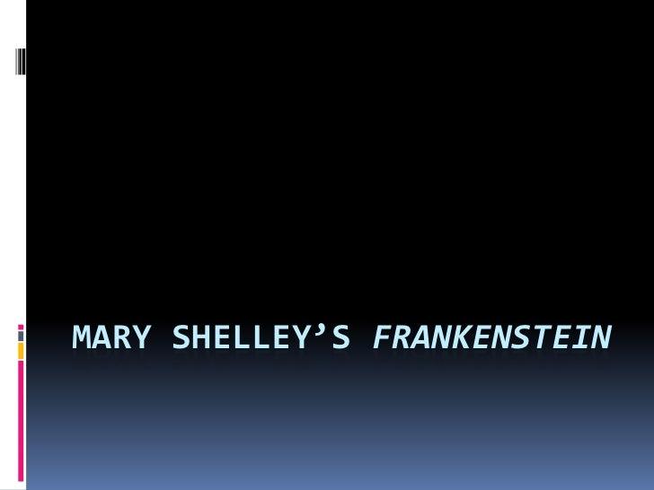 Talk:Frankenstein/Notes