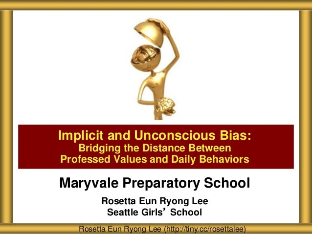 Maryvale Preparatory Implicit and Unconscious Bias