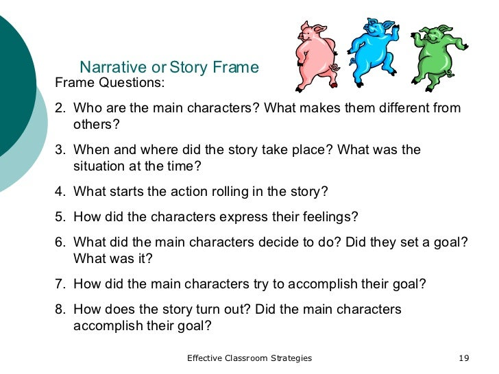 Story Frame Example - Frame Design & Reviews ✓