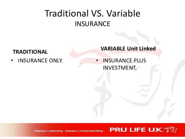Insurance: Traditional Products Versus New ULIP Products Essay