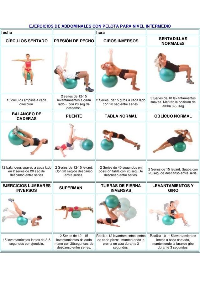 Mas ejercicios for Tabla de ejercicios para adelgazar