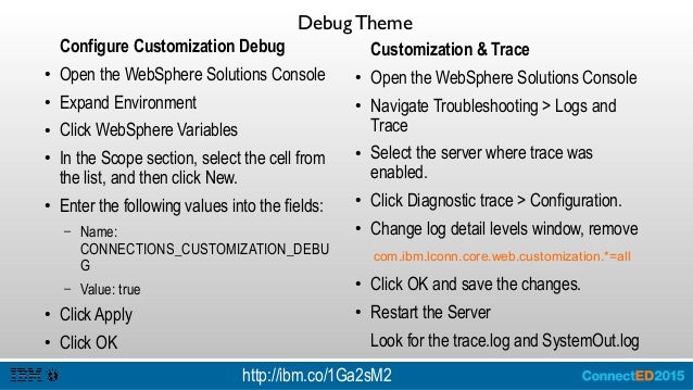 Service Context Root ● Login the WebSphere Console ● Expand Applications > Application Type > WebSphere Enterprise Applica...