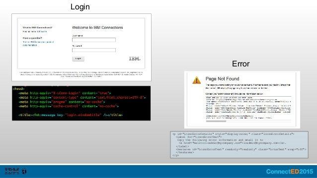 Header.jsp Top of the Page Framework with the Applications Megamenu user.jsp – Edit the User menu (logout) communities.jsp...