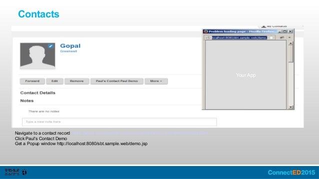 Organization Extensions: Profiles Select Person Select Person Component Enter Name / Description Click Icon Select a Desti...