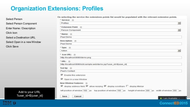 Profiles Your Action Navigate to a profile https://apps.na.collabserv.com/contacts/profiles/view/20089096 Click on the act...