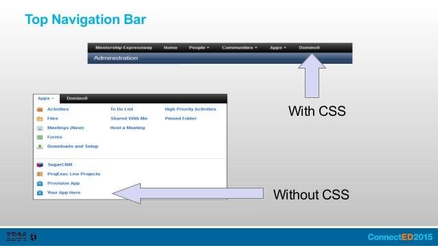 IBM Connections Cloud Service Menu and Navigation Bar http://connections.imaginnado.com/cloudBanner.html