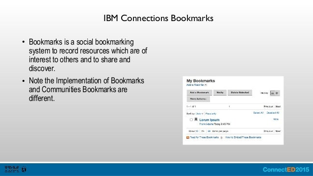 IBM Connections Files ● Files enables users to share, discover, comment and interact files and folders. ● There are TWO ma...