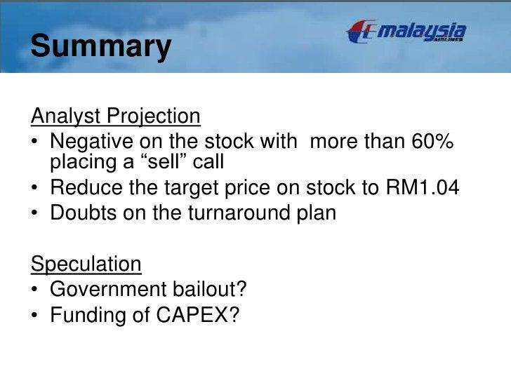 """SummaryAnalyst Projection• Negative on the stock with more than 60%  placing a """"sell"""" call• Reduce the target price on sto..."""