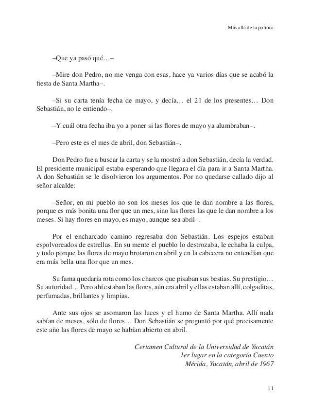 Mas allá de la política - Carlos Castillo Peraza