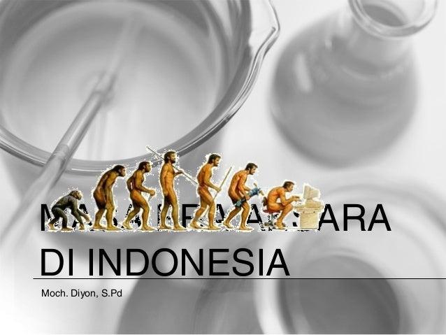MASA PRA AKSARADI INDONESIAMoch. Diyon, S.Pd