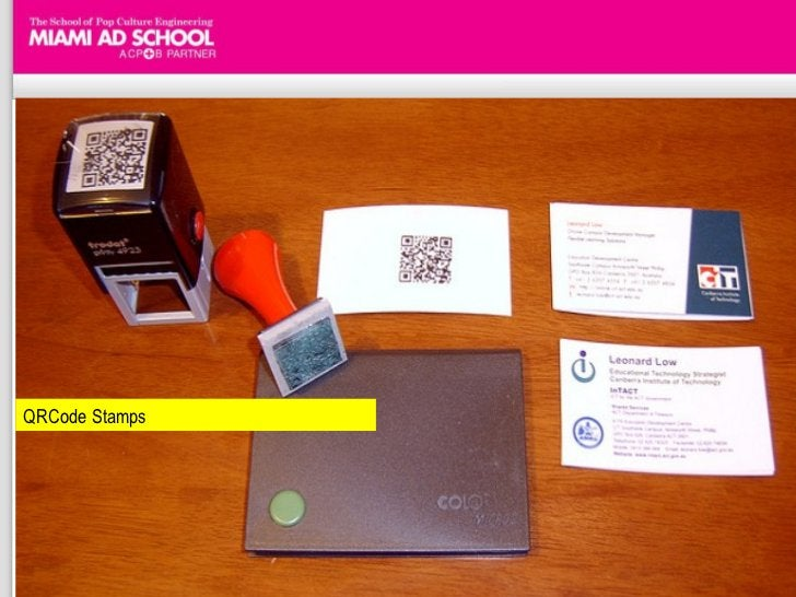 QRCode Stamps